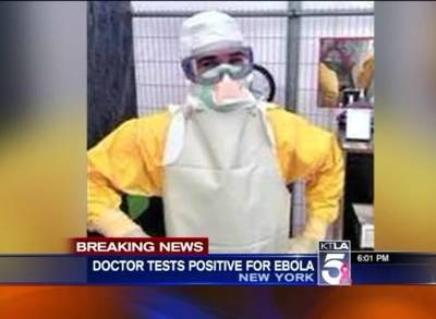 News video: New York City Doctor Tests Positive for Ebola