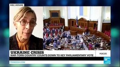 News video: UKRAINE - Ukraine's crippled elections